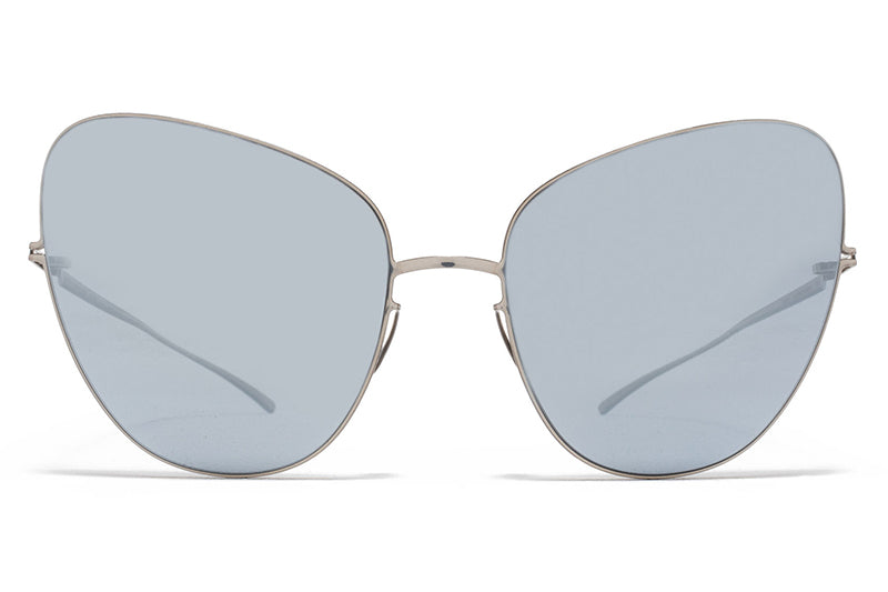 MYKITA + Maison Margiela - MMESSE018 E1 Silver with Silver Flash Lenses