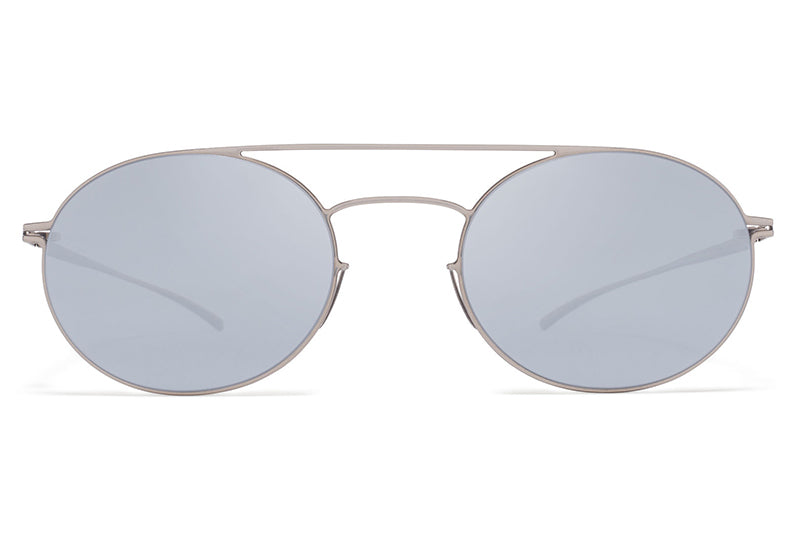 MYKITA + Maison Margiela - MMESSE019 E1 Silver with Silver Flash Lenses