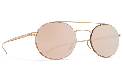 MYKITA + Maison Margiela - MMESSE019 E12 Champagne Gold with Champagne Gold Lenses