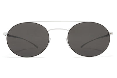 MYKITA + Maison Margiela - MMESSE019 E13 White with Dark Grey Solid Lenses