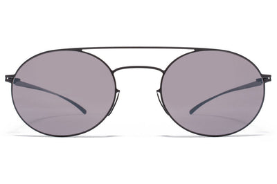 MYKITA + Maison Margiela - MMESSE019 Sunglasses E6 Dark Grey, Dark Purple Flash
