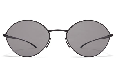 MYKITA + Maison Margiela - MMESSE020 E4 Black with Grey Solid Lenses