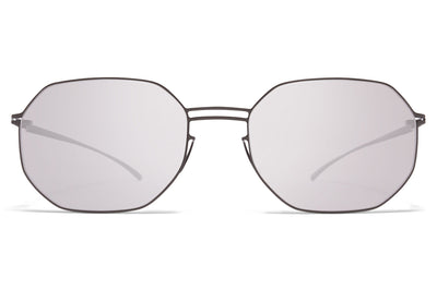 MYKITA + Maison Margiela - MMESSE021 E15 Shiny Graphite with Warm Grey Flash Lenses