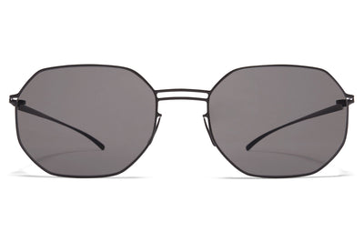 MYKITA + Maison Margiela - MMESSE021 E4 Black with Grey Solid Lenses
