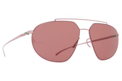 MYKITA + Maison Margiela - MMESSE022 Sunglasses E17 Candy Rose with Purple Solid Lenses