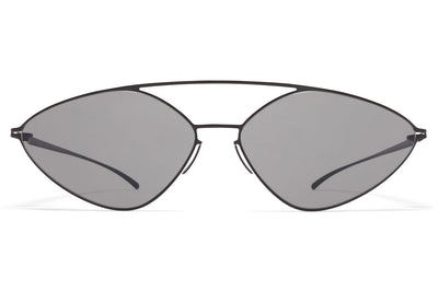 MYKITA + Maison Margiela - MMESSE023 E4 Black with Grey Solid Lenses