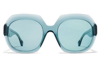 MYKITA + Maison Margiela - MMMONO Sunglasses All Emerald with All Emerald Solid Lenses