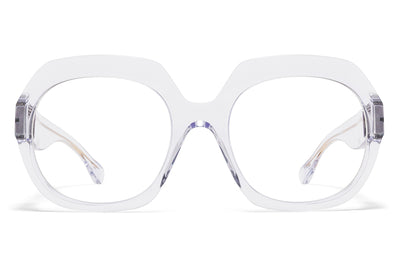 MYKITA + Maison Margiela - MMMONO Sunglasses All Transparent with All Transparent Solid Lenses