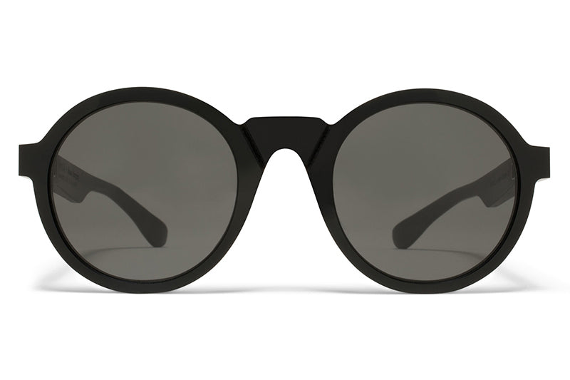 Transparent MMMono glasses by Martin Margiela Mykita