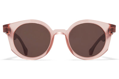 MYKITA + Maison Margiela - MMRAW013 Raw Melrose with Brown Solid Lenses