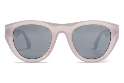 MYKITA + Martin Margiela - MMDUAL004 Sunglasses D5 Grey/Light Grey with Warm Grey Flash Lenses