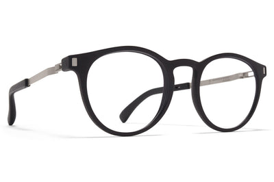 MYKITA Mylon - Bloom Eyeglasses MH49 - Pitch Black/Matte Silver