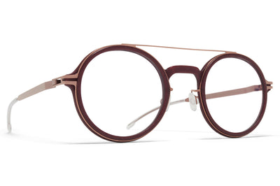 MYKITA Mylon - Hemlock Eyeglasses MH43 - New Aubergine/Purple Bronze