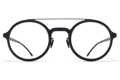MYKITA Mylon - Hemlock Eyeglasses MH6 - Pitch Black/Black