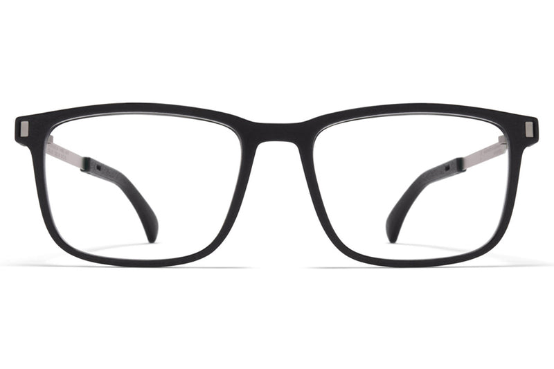 MYKITA - Mate Eyeglasses MH49 - Pitch Black/Matte Silver