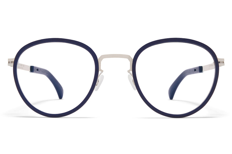 MYKITA - Palm Eyeglasses  MH10 - Navy Blue/Shiny Silver