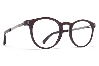 MYKITA Mylon - Bloom Eyeglasses MH25 - Ebony Brown/Shiny Graphite