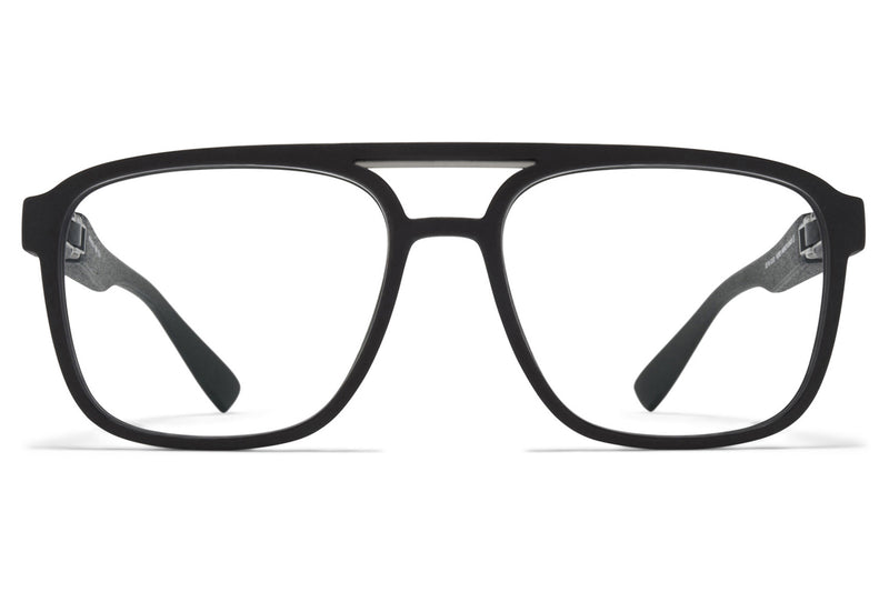 MYKITA Mylon - Cassini Eyeglasses MMT10 - Pitch Black/Matte Silver