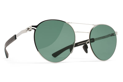 MYKITA Mylon Sunglasses - Elder MH3 - Silver/Storm Grey with Neophan Solid Lenses