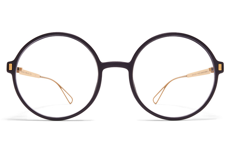 MYKITA Mylon - Haze Eyeglasses MH7 - Pitch Black/Glossy Gold