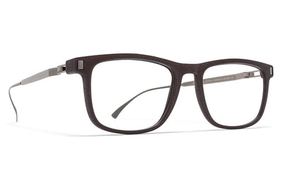 MYKITA MYLON - Huito Eyeglasses MH25 - Ebony Brown/Shiny Graphite