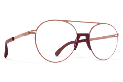 MYKITA - Lemon Eyeglasses MH43 - New Aubergine/Purple Bronze
