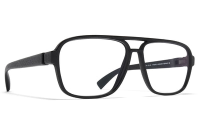 MYKITA Mylon - Loop Eyeglasses Pitch Black/Glossy Black