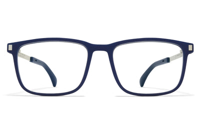 MYKITA - Mate Eyeglasses MH10 - Navy Blue/Shiny Silver
