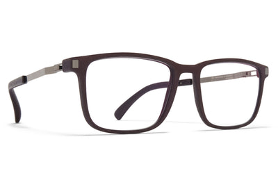 MYKITA - Mate Eyeglasses MH25 - Ebony Brown/Shiny Graphite