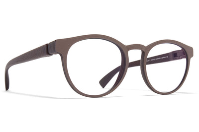 MYKITA Mylon - Nadir Eyeglasses MDL2 - Ebony Brown/Mole Grey