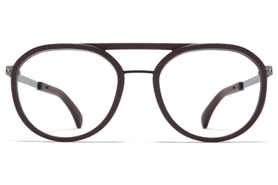 MYKITA Mylon - Willow Eyeglasses MD25 - Ebony Brown/Shiny Graphite