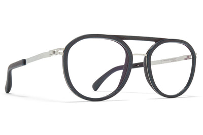 MYKITA Mylon - Willow Eyeglasses MH44 - Storm Grey/Shiny Silver