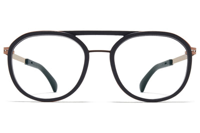 MYKITA Mylon - Willow Eyeglasses MH45 - Pitch Black/Shiny Copper