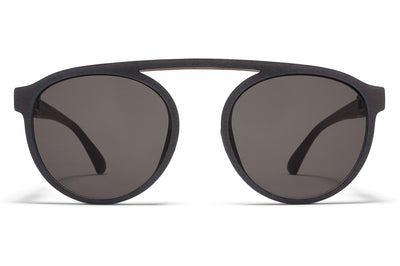 MYKITA - Altos Mylon Sunglasses MMT6 - Storm Grey/Shiny Graphite with Grey Solid Lenses