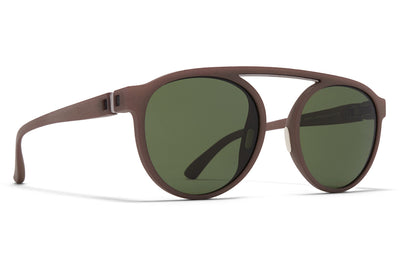MYKITA - Altos Mylon Sunglasses MMT7 - Taupe Grey/Shiny Graphite with Fern Polarized Lenses