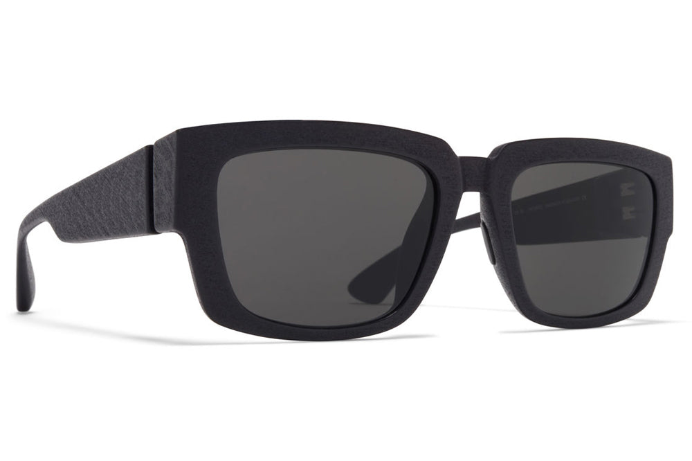 MYKITA MYLON - Bond Sunglasses MD1 - Pitch Black with Dark Grey Solid Lenses