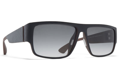 MYKITA Mylon - Boom Sunglasses MDL10 - Taupe Grey/Black with Grey Gradient Lenses