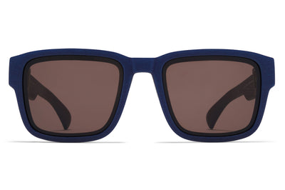 MYKITA - Boost Sunglasses MD25 Navy Blue with Brown Solid Lenses