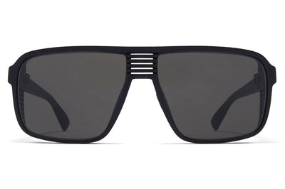 MYKITA Mylon - Canyon Sunglasses MD1 - Pitch Black with Dark Grey Solid Lenses