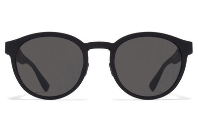 MYKITA Mylon - Coleman Sunglasses MD1 - Pitch Black with Dark Grey Solid Lenses