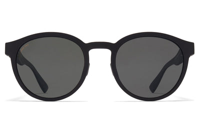 MYKITA Mylon - Coleman Sunglasses MD1 - Pitch Black with Polarized Pro Hi-Con Grey Lenses
