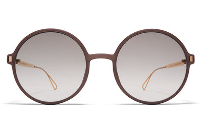 MYKITA Mylon - Haze Sunglasses MH17 - Taupe Grey/Champagne Gold with Original Grey Gradient Lenses