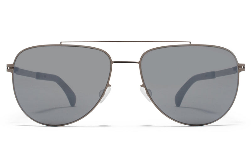 MYKITA - Leaf Mylon Sunglasses MH9 - Storm Grey/Shiny Graphite with Neophan Polarized Lenses