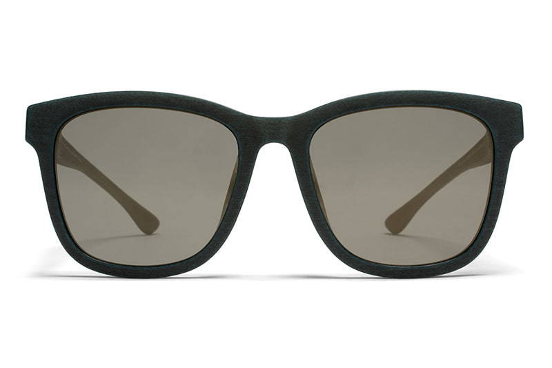MYKITA Mylon Sunglasses - Levante MD8 - Storm Grey with Neophan Solid Lenses