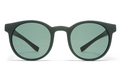MYKITA Mylon Sunglasses - Omega MD8 - Storm Grey with Neophan Solid Lenses