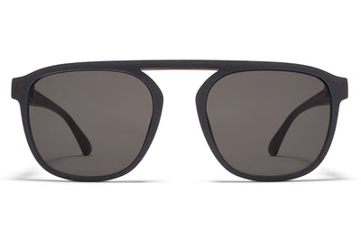 MYKITA - Pabu Mylon Sunglasses MMT6 - Storm Grey/Shiny Graphite with Grey Solid Lenses