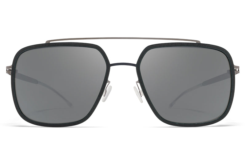 ab73669c60 MYKITA Mylon - Reed Sunglasses MH9 - Storm Grey Shiny Graphite with Light  Silver Flash