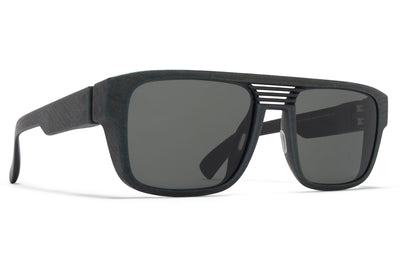 MYKITA - Ridge Sunglasses MD8 - Storm Grey with Grey Solid Lenses