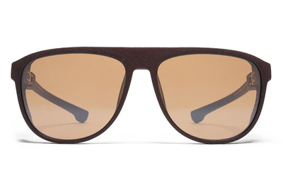 MD22 - Ebony Brown with Sienna Brown Flash LensesMYKITA Mylon Sunglasses - Turbo