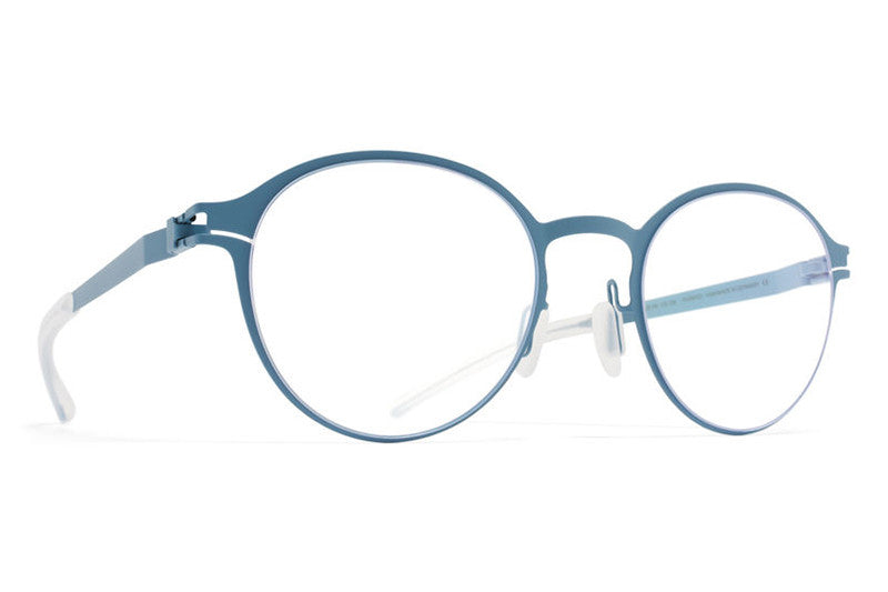MYKITA Eyeglasses - Adebar Blue Grey Quarter